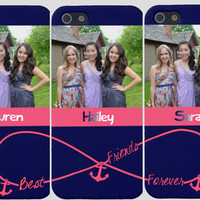 Photo Best Friends Forever Iphone Cases (Three Case Set)