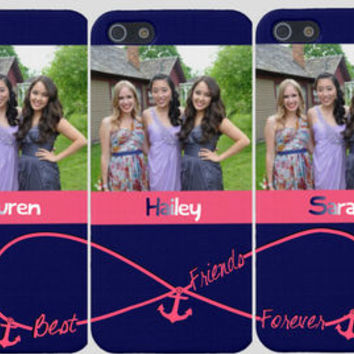 new product ab253 9f27d Photo Best Friends Forever Iphone Cases (Three Case Set)