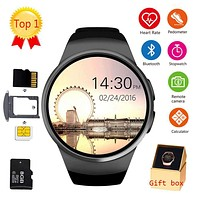 LEMFO KW18 Bluetooth smart watch full screen Support SIM TF Card Smartwatch