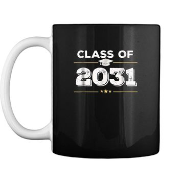 Class of 2031 Grow With Me Happy First Day of School  Mug