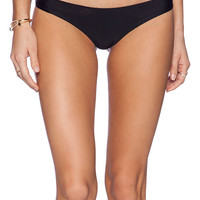 Acacia Swimwear Ho'okipa Bikini Bottom in Black
