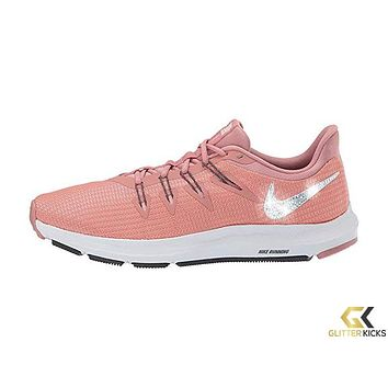 Nike Quest + Crystals - Rust Pink/Summit White/Pink Tint
