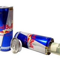Red Bull Secret Container Cans | Latas contenedor secreto Red Bull