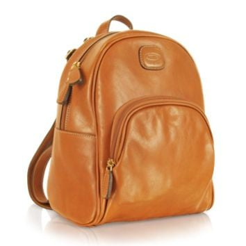 Bric's Designer Handbags Life Leather - Genuine Leather Backpack