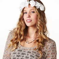 AEO Flower Crown Headband | American Eagle Outfitters