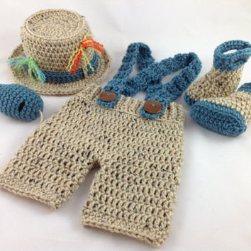 Newborn Fishing Outfit - Fly Fishing Hat - Fishing Hat - Newborn Boy Hat - Fisherman Outfit - Newborn Boy Outfit - Crochet