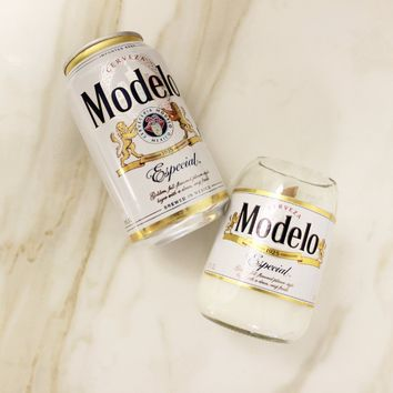 Modelo Especial Beer Candle