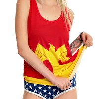 Underoos DC Comics Wonder Woman Girls Underwear Set
