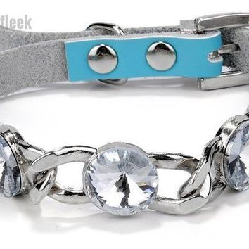 Small Dogs and Cats Rhinestone Collars