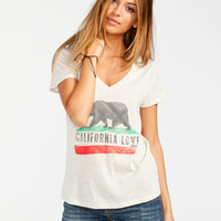 Billabong Ecstatic State Womens Tee Oatmeal  In Sizes