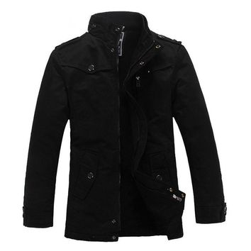 The Woods Coat Black
