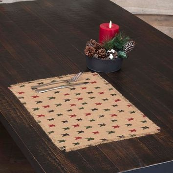 Primitive Star Jute Placemat - Set of 6