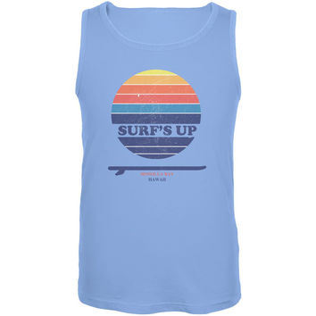 Surf's Up Honolua Bay Hawaii Mens Tank Top