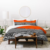 Bird Ave University Of Florida Orange Duvet Cover