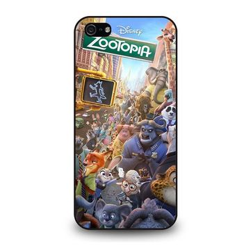 ZOOTOPIA CHARACTERS Disney iPhone 5 / 5S / SE Case Cover
