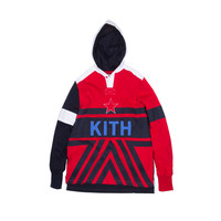 KITH Academy Greenwich Rugby - Red / White / Navy