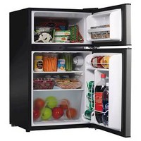 Whirlpool® 3.1cu. ft. Mini Refrigerator Stainless Steel (BCD-88V)