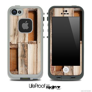Broken Wood Crate Skin for the iPhone 5 or 4/4s LifeProof Case