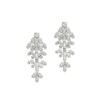 Marquise Cz Waterfall Clip Earring