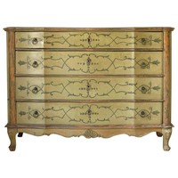 Italian Louis XV Style 1940s Chest of Drawers