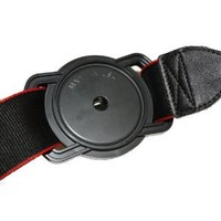Cap Buckle CB200BE Lens Cap Holder 67-58-52 (Black)