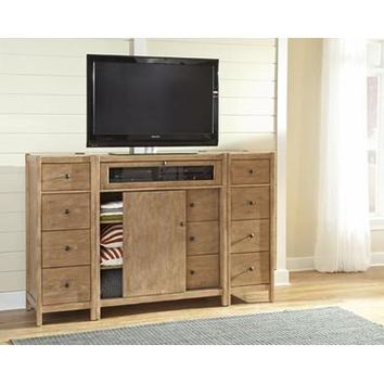American Woodcrafters Essentials Entertainment Furniture