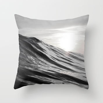 Motion of Water Throw Pillow by Nicklas Gustafsson