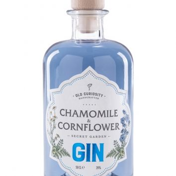 The Old Curiosity Distillery Chamomile & Cornflower Secret Garden Gin