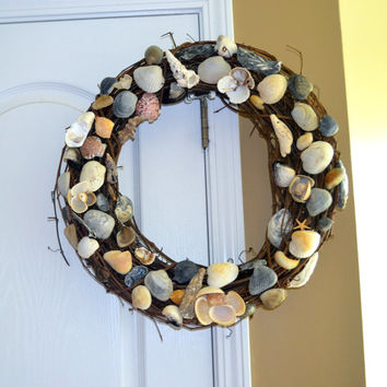 Seashell and Twine Large Wreath