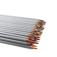 Huhuhero Marco Raffine 48 Color Pencil Set Premium Art Drawing Colored Pencils for Artist Sketch / Adults Coloring Book Writing / Drawing / Sketching
