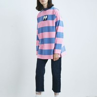 Lazy Oaf Stripey Eye Long Sleeve T-shirt - Everything - Categories - Womens