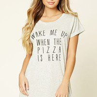 Pizza Graphic Nightdress