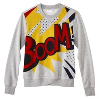 3.1 Phillip Lim for Target® French Terry Sweatshirt -Boom Print