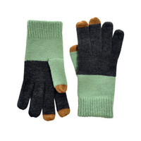 Verloop Rothko Touchscreen Gloves Mint/Chocolate - Default