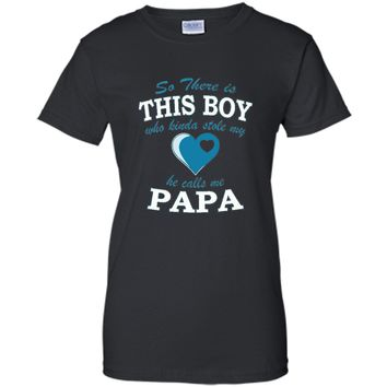 Men's So, There Is This Boy. He Kinda Stole My Heart T-Shirts