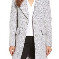 Kenneth Cole New York Wool Blend Bouclé Coat | Nordstrom
