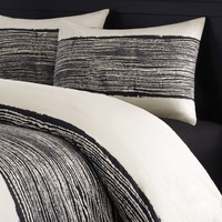 Echo Brushstroke Twin Duvet Cover