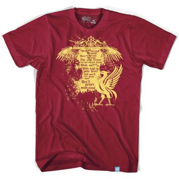 Liverpool Shankley Gates Red T-shirt