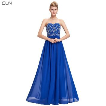 OLN Woman Chiffon Sequins Christmas Evening Party Dress Autumn Elegant Women Exquisite Craft Dress Plus Size Lady Gift Clothes