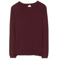 Mtwtfss Weekday Low Knit Sweater Dk Red
