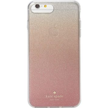 Kate Spade New York Pink Glitter Ombre iPhone 7 Plus / 8 Plus Case, Pink Glitter, iPhone 8