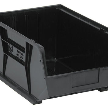 Quantum Storage Systems QUS255 Ultra Stack And Hang Bin Black - Pack of 4