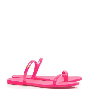 Tory Burch Two-band Jelly Slide
