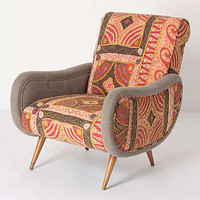 Anthropologie - Zoey Patchwork Armchair
