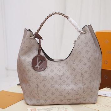 DCCK Lv Louis Vuitton Fashion Women Men Gb2966 M53188 Mahina Comes In All Kinds Of Styles Carmel 35x40x17cm