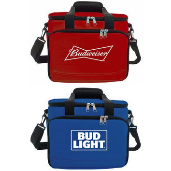Budweiser/Bud Light 12 Can Coolers - Assorted Brand Styles