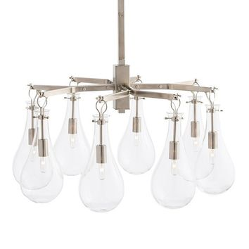 Arteriors Sabine Chandelier - Nickel | New Lighting | What's New! | Candelabra, Inc.