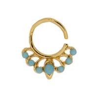 Jeweled Turquoise Europa Ring
