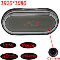 Full HD 1080P HDMI Camcorder Hidden Spy Alarm Clock