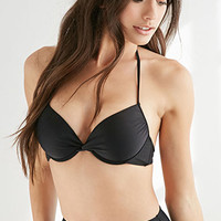 Halter Push-Up Bikini Top